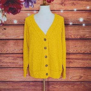 Two by Vince Camuto Mustard Cardigan